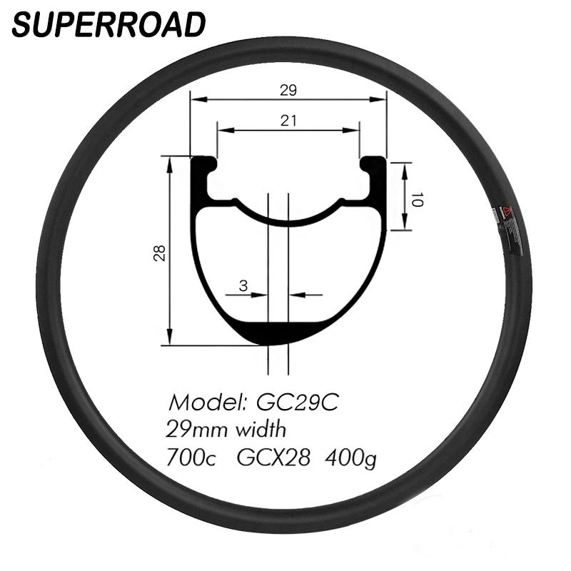Road Bike Gravel Tubeless rim