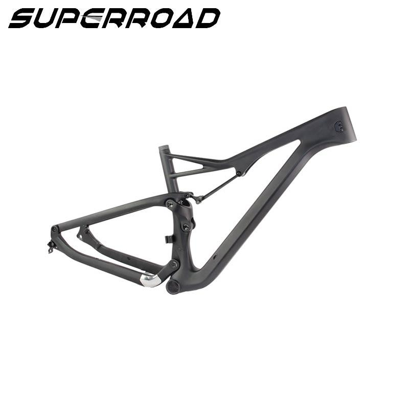 carbon suspension framesets