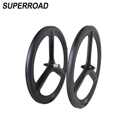 3 spokes bicycle road rims