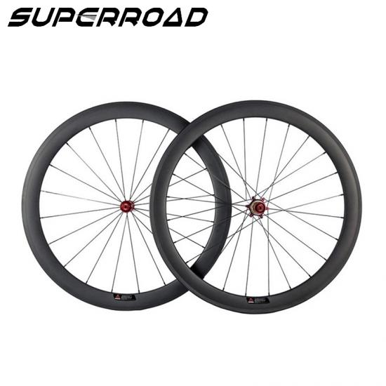 55mm Carbon Wheels,Best Road Bicycle Wheels,Carbon Tubeless Wheels